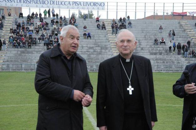Lucchese-Pro Piacenza: monsignor Castellani  (Alcide)