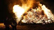 E' stato bruciato il legname proveniente dalle potature (Petrangeli)