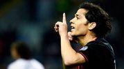 Mati Fernandez esulta per il gol dell'1-0 (LaPresse)