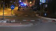 La rotatoria di via de' Brozzi dove è avvenuto l'incidente (Scardovi)