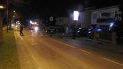 Il terribile incidente si è verificato in via Dè Brozzi a Lugo (foto Scardovi)