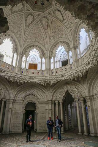 Immagini dal castello di Sammezzano (Foto Germogli)