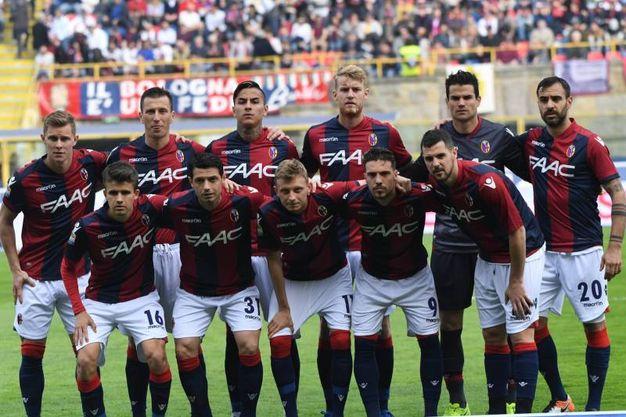 La formazione del Bologna contro il Chievo (foto Schicchi)