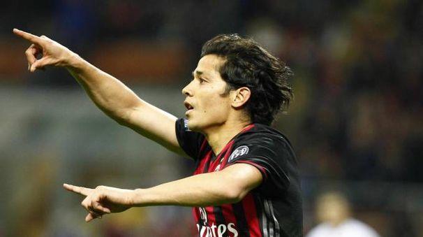 Matias Fernandez in gol contro il Genoa