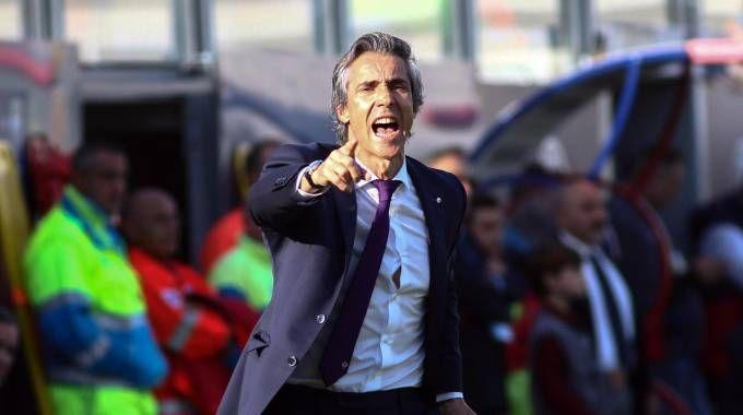 Crotone-Fiorentina, la grinta di Paulo Sousa