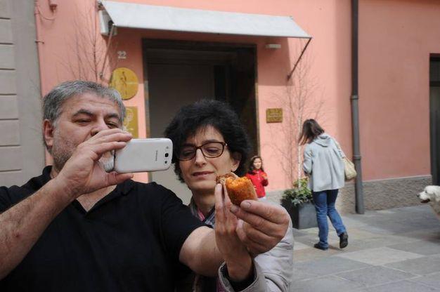 Scatto al supplì (foto Fiocchi)