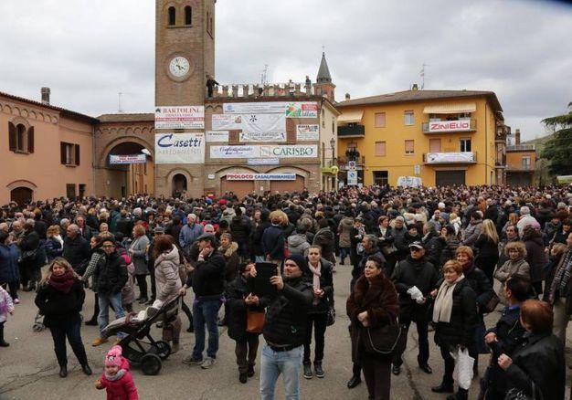 La festa è stata voluta dal conte Federico Alessandretti (ISolaPress)