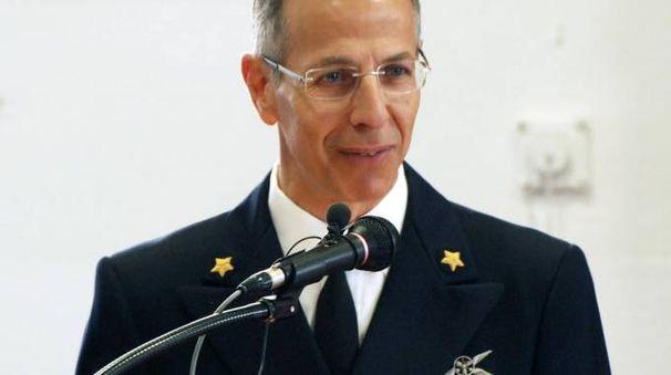 L'ammiraglio Stefano Corona