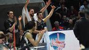 La gioia per la vittoria (foto Schicchi)