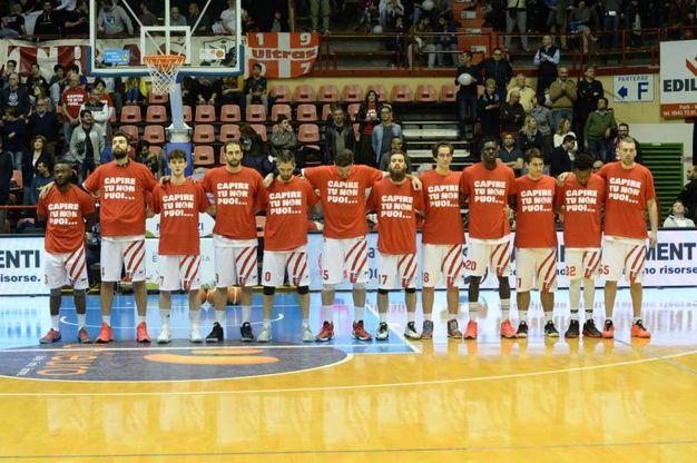 L'Unieuro conquista il terzo successo consecutivo (Foto Frasca)