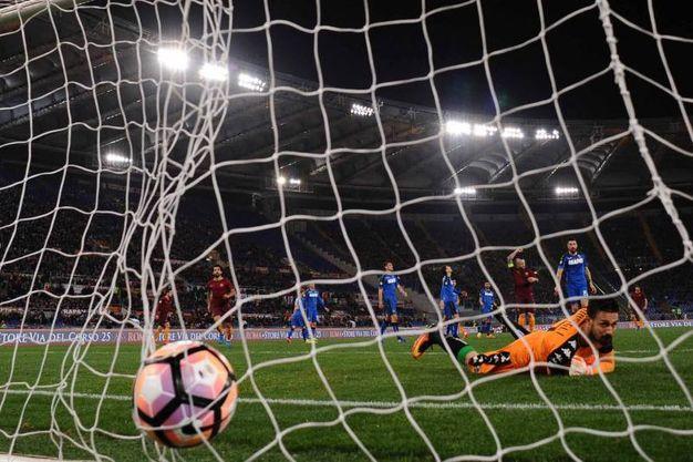 Il gol di Paredes (Foto LaPresse)