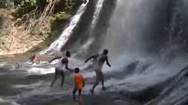 Le cascate di Kintampo in Ghana (da youtube)