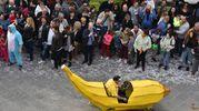 La Segavecchia di Forlimpopoli. Un irriverente 'carnevale' di metà quaresima, con sfilata di carri allegorici che accompagnano la Vecchia nelle due domeniche, 8 e 15 marzo (Foto Fantini)