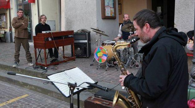 Anche tanta musica durante la Sagra del Porcospino (foto Ravaglia)