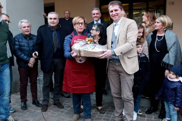 La vincitrice del Porcospino più buono Patrizia Marinella Ercolani (foto Ravaglia)
