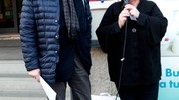 Il sindaco Monica Rossi con Giampiero Giordani (foto Ravaglia)