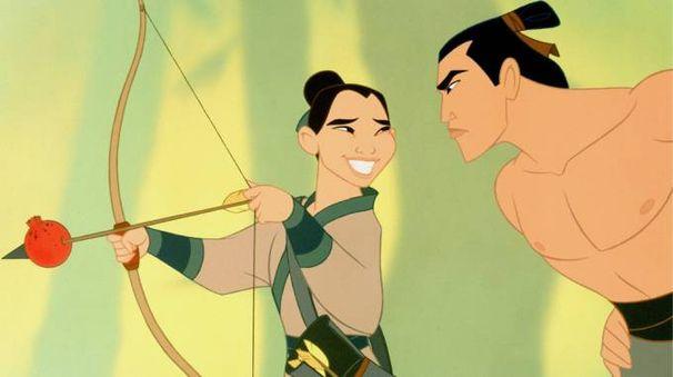 Una scena del film 'Mulan' (1998) – Foto: Walt Disney Pictures