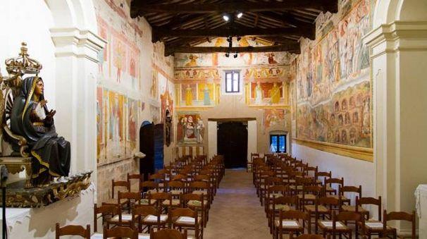 Chiesa della Madonna della Misericordia a Monteleone, visitabile nelle Giornate Fai 2017