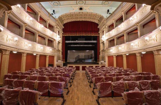 Ascoli, il teatro Filarmonici