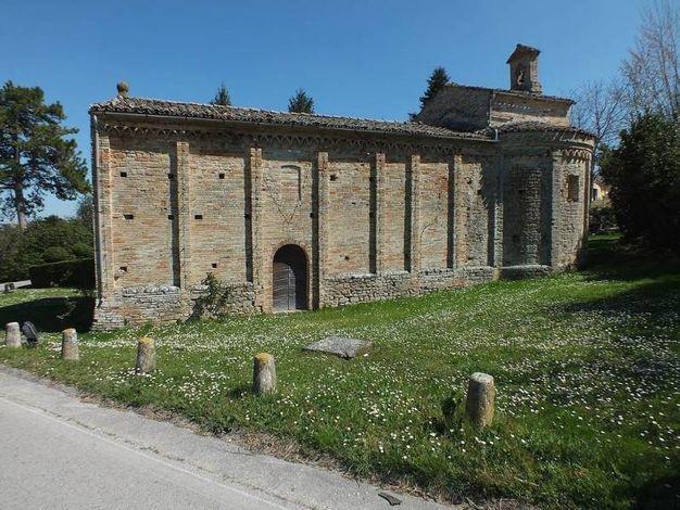 Monteleone di Fermo, la chiesa della Madonna della Misericordia