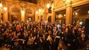 Fabrizio Moro ha presentato il suo ultimo album 'Pace' alla eltrinelli (Schicchi