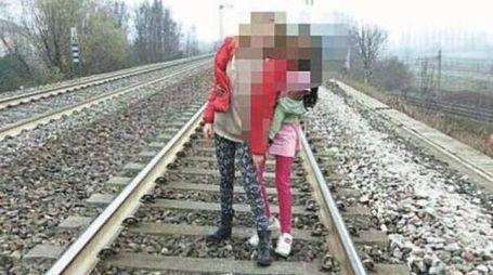 I cinque ragazzini sono stati visti da un passante