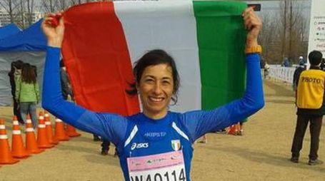 Chiara Gallorini esulta dopo il successo
