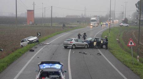 """Faenza, """"la provinciale Granarolo sarà più sicura con gli autovelox"""" (foto Veca)"""