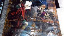 Il Guercino danneggiato