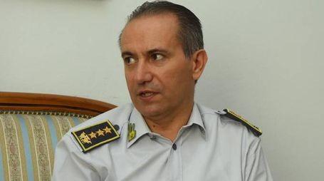 Il comandante delle fiamme gialle reggiane,  Roberto Piccinini