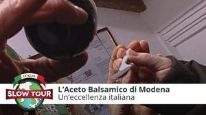 l Gran Maestro dell'Aceto Balsamico di Modena, qui a Spilamberto, ci racconta i segreti di