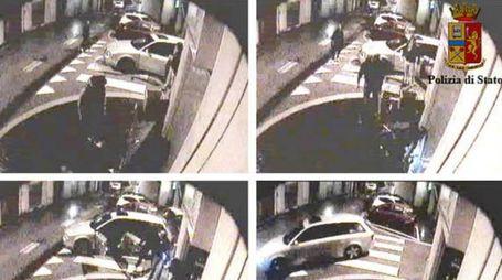 le immagini della rapina