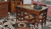 Antica Cucina esposta al Museo delle Apuane