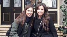 Sara e Letizia in uno scatto di mercoledì a Londra