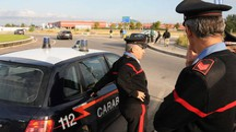INDAGINI Una pattuglia dei carabinieri