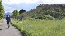 La montagnola di via Rodari (foto Attalmi)