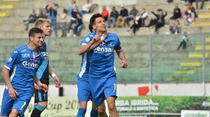 Viareggio Cup: Empoli-Spal, l'esultanza degli azzurri (Umicini)