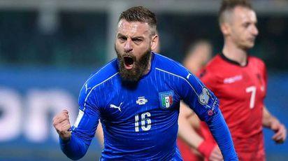 De Rossi in gol (Lapresse)