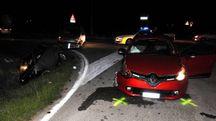 Lugo, pauroso incidente tra tre auto  (Scardovi)