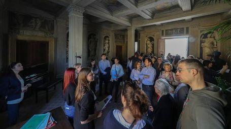 Giornate Fai 2017 a Pesaro, folla in visita a Villa Vismara (Fotoprint)