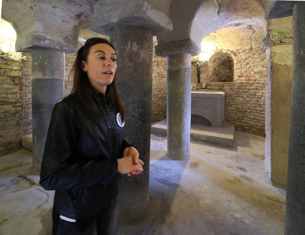 Giornate del Fai, la cripta del San Decenzio