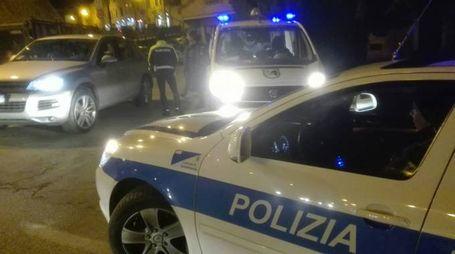 Vigili di Osimo in notturna