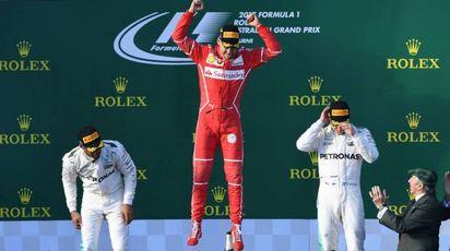 Vettel vince il Gp d'Australia (Afp)