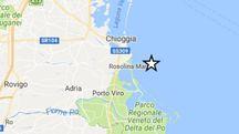 Rovigo, terremoto al largo di Rosolina Mare