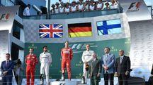 Gp Australia, vince Vettel (Afp)
