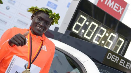 Dennis Kipruto Kimetto e il suo record sulla maratona