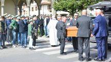 Il funerale di Filippo Baldini (foto Pecchioli/Attalmi)
