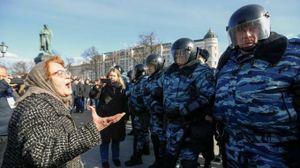 Russia, manifestazione contro Putin (Lapresse)