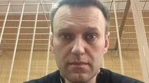 Alexei Navalny, selfie dal tribunale (Dire)