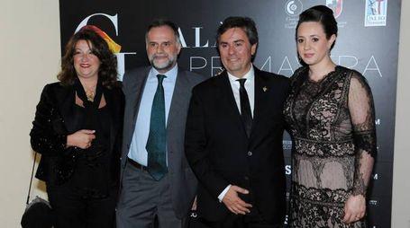 Massimo Garavaglia e Alberto Oldrini con le consorti